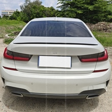 For New BMW 3 Series G20 Spoiler Accessories 320i 325i 330i  PU Material Car Trunk Rear Lip Wing Tai