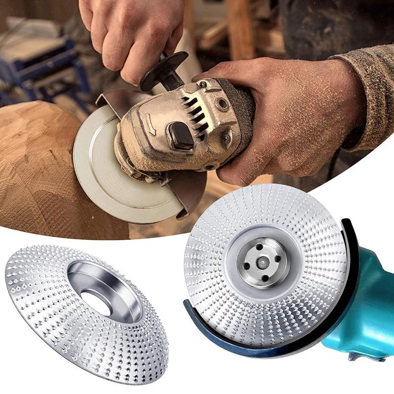 4 pezzi smerigliatrice angolare mola per legno 12 denti lucidatura - Utensili abrasivi - Fotografia 6