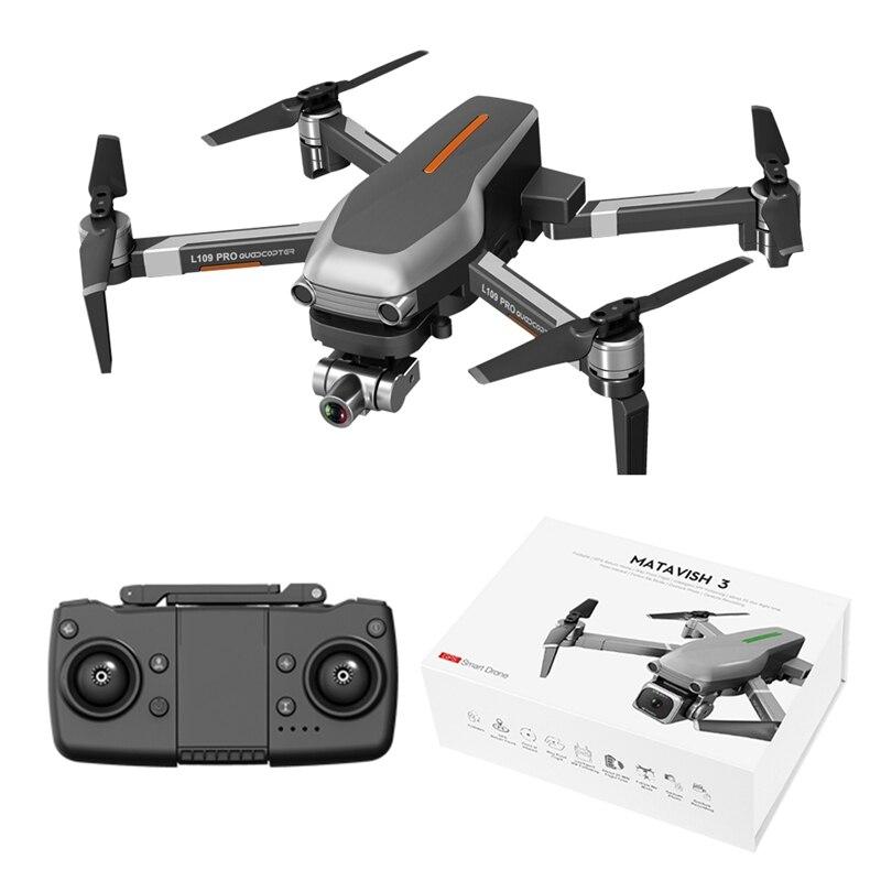 RC Drone 5G L109-PRO GPS 4K HD Camera WIFI FPV Brushless Motor Foldable Selfie Drones Professional