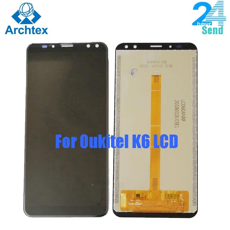 Para pantalla Original OUKITEL K6 LCD + MONTAJE DE digitalizador con pantalla táctil + herramientas 5,99 pulgadas 2160x1080P en stock