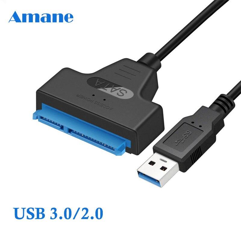 Cable Usb Sata 3 a Usb 3,0 adaptador de Cables de ordenador...