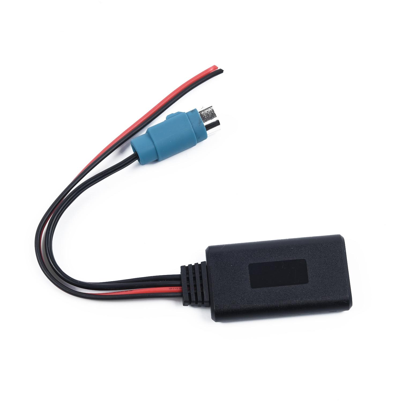 20cm 12V conector do Adaptador de Cabo de Áudio Aux Alpino KCE-237B/CDE-101 CDE-102 CDA-105 Limitações de Carro Para o iphone Samsung sony etc
