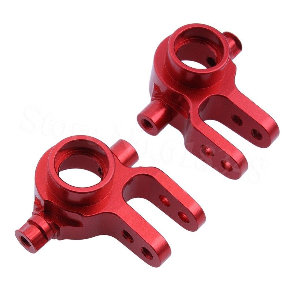 1/10 Traxxas Slash 4x4 aluminiowe lewe i prawe bloki sterujące (część #6837) Upgrade OP części Fit Stampede RALLY CNC