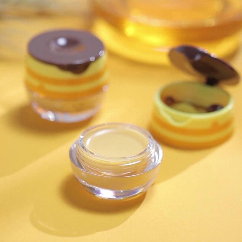 1PC Propolis Moisturizing Lip Mask Sleep Lip Balm Nourishing Anti-wrinkle Anti-cracking Lip Care Unisex Lip Mask With Brush