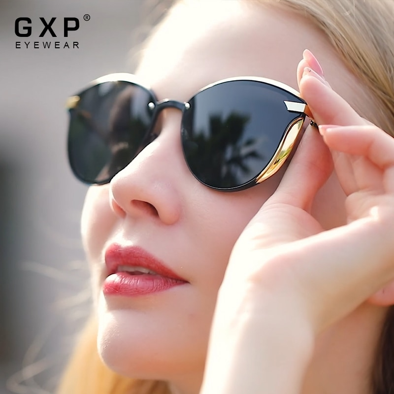 GXP Cat Eye Sunglasses Women Polarized Fashion Ladies Sun Glasses Female Vintage Shades Oculos de so