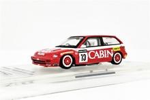 INNO64 164 Honda Civic EF3 #13 Team Kabine Macau Guia Rennen 1988 Diecast Modell Auto