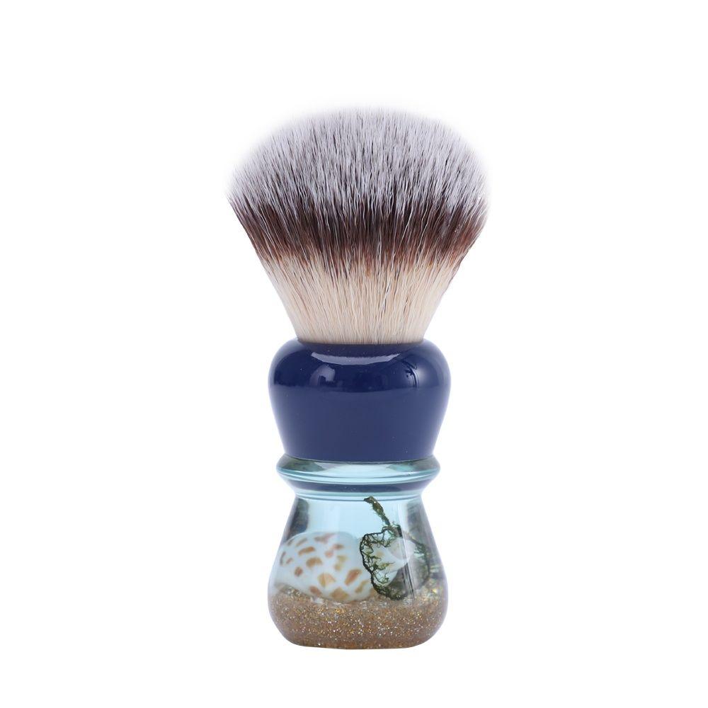 yaqi 24mm moka express synthetic hair shaving brush Yaqi Atlantis 24mm Synthetic Hair Shaving Brush