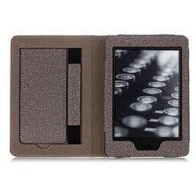Caso da tela de omeshin para kindle paperwhite1/2/3/4 mais fino capa inteligente wake automático design user friendly portátil capa de livro