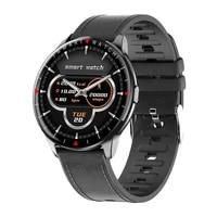 2021 full touch smart watch women men smartwatch fitness heart rate monitor sleep monitoring sports bracelet ip68 waterproof