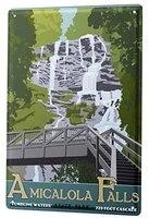 Panneau mural de decoration interessant 8x12 pouces  Plaque metallique  decoration de couloir de cinema  de maison  de salon