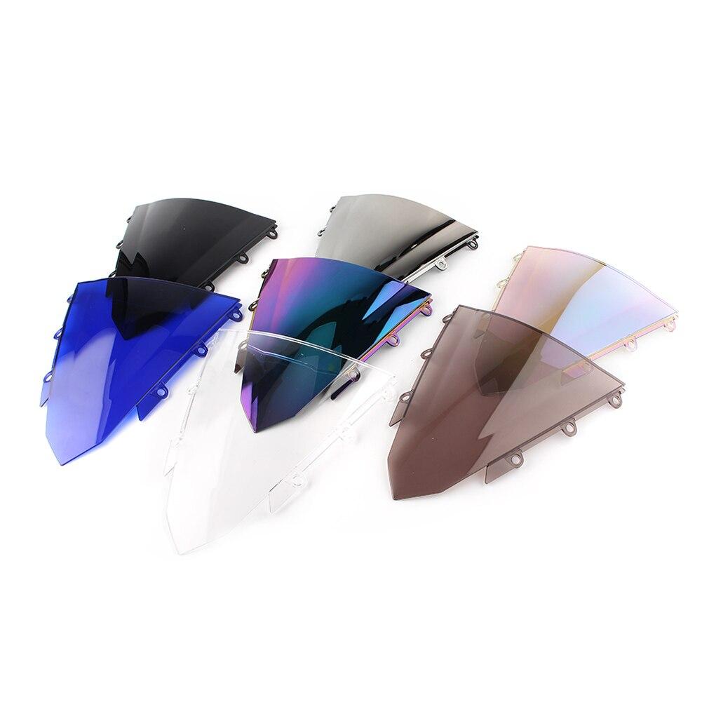 Parabrisas de doble burbuja protección contra el viento de la motocicleta para Honda CBR 500 R 500R CBR500R 2016-2018