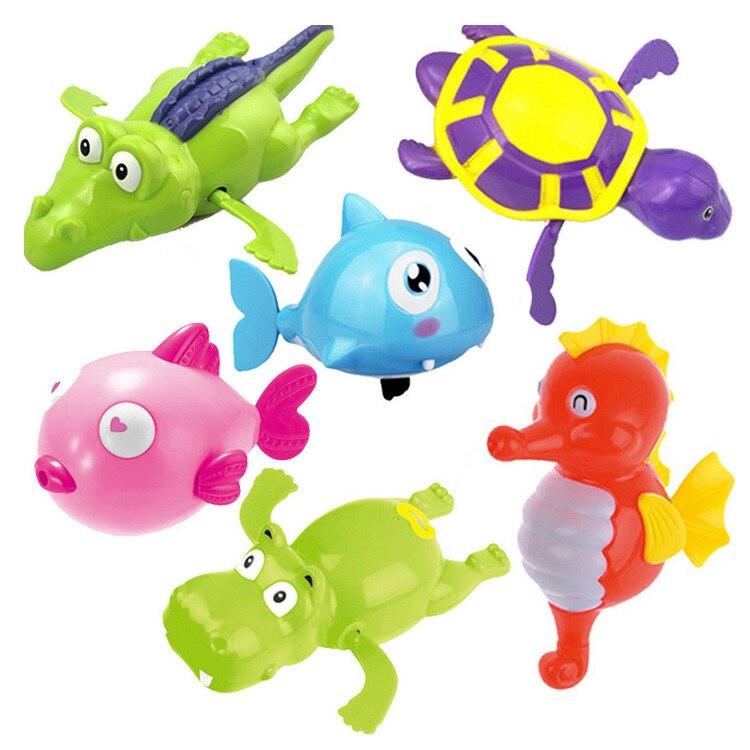 Международная торговля, креативные Детские заводные игрушки, детская игра с водой, намотанная черепаха для купания, Мультяшные игрушки, опт...
