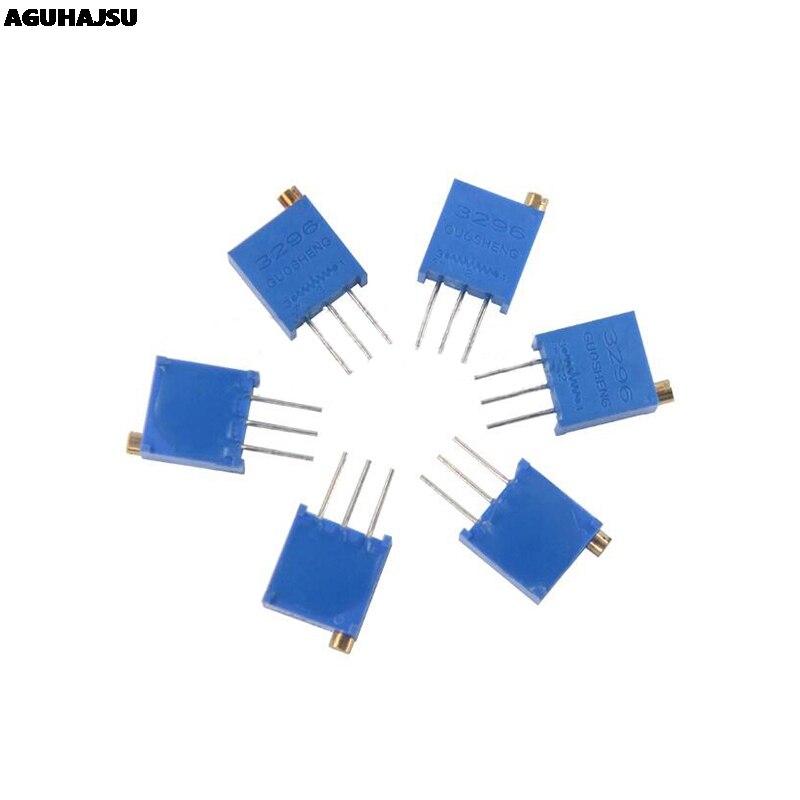 10 шт. 3296 Вт 1 к 2 к 5 к 10 к 20 к 50 к 100 к 200 к 500 к 1 м 1 Ом отделка горшок триммер Тип потенциометра для Arduino
