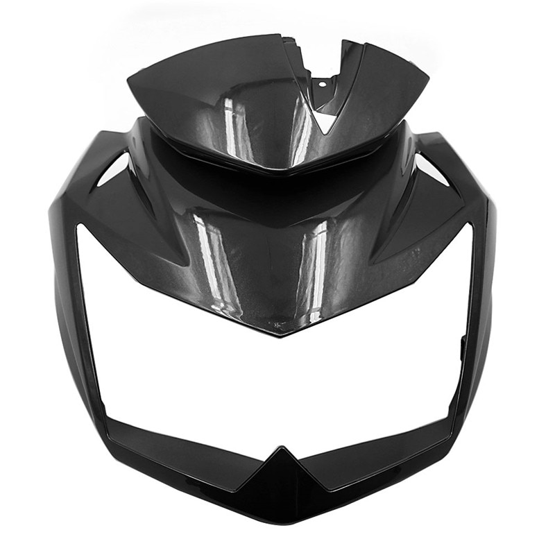 Z750 07-12 Motorcycle Front Head Upper Nose Fairing Headlight Cover For Kawasaki Z-750 Z 750 2007 2008 2009 2010 2011 2012