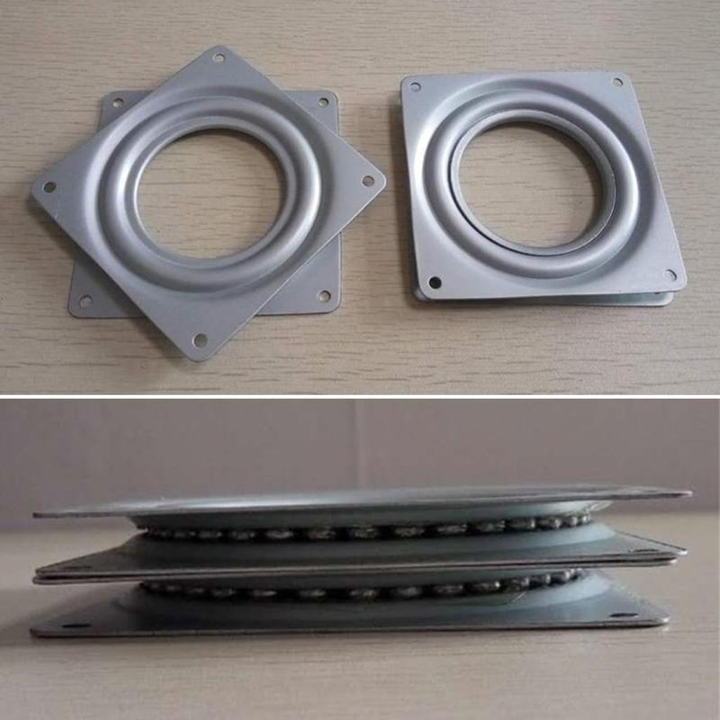 Base de placas giratórias, base de placas giratórias de exposição quadrada, mecanismo, ferramenta rotativa