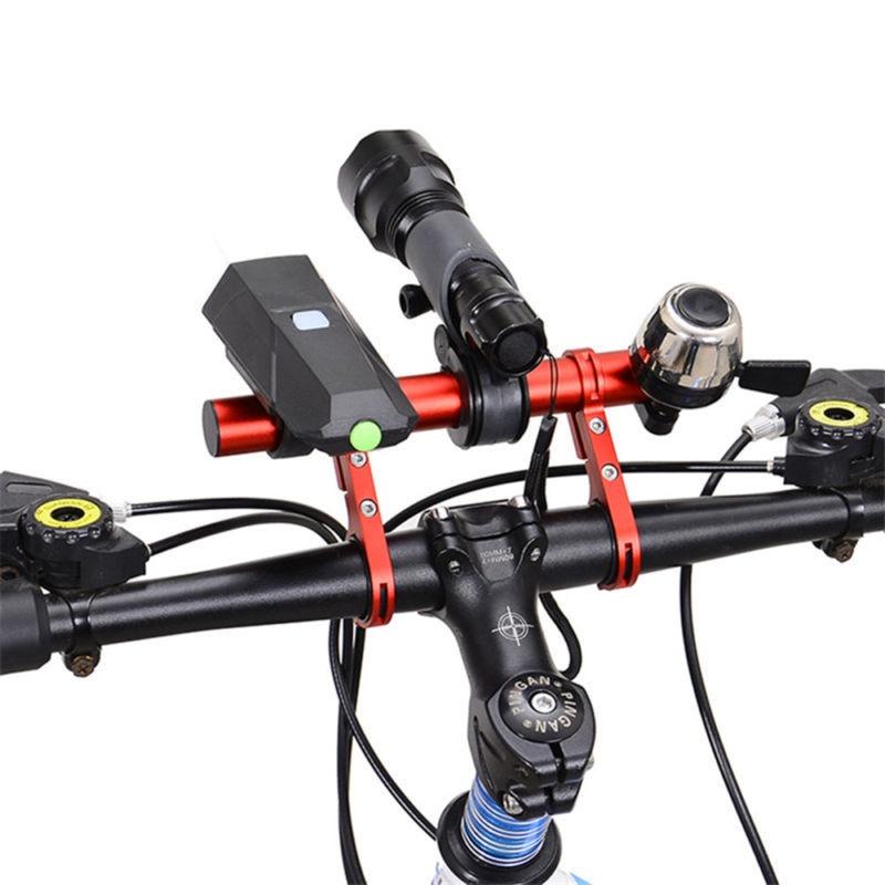 10cm / 20cm bicycle handlebar extension frame MTB aluminum alloy headlight frame fixed frame bicycle handlebar bracket