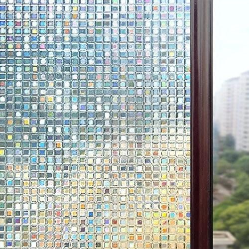 Pegatina autoadhesiva Para ventana pegatina de vidrio opaco Para baño, Vinilos impermeables...