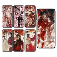 heaven officials blessing silicone cover for xiaomi redmi note 10s 10 9 9s 9t 8t 8 7 6 5 pro max 5a 4x 4 5g soft phone case