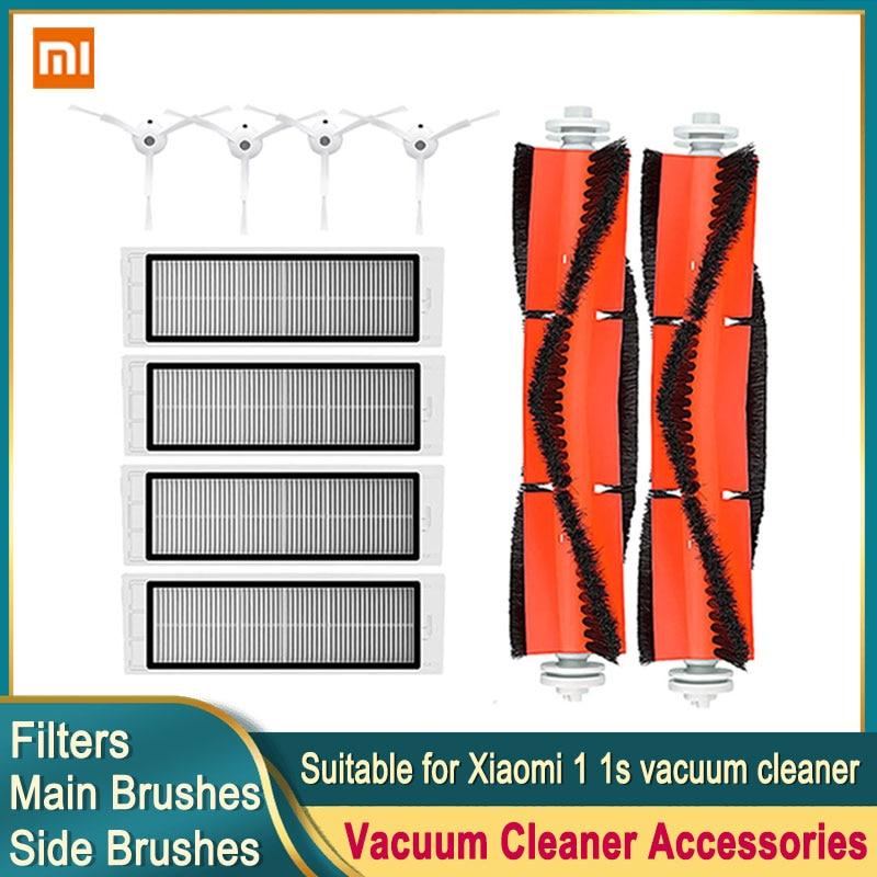 Robot Vacuum Cleaner Hepa Filter Main Brush For Xiaomi Mi 1 1S Roborock S5 S50 Max Mijia Vacuum Cleaner Accessories Side Brush