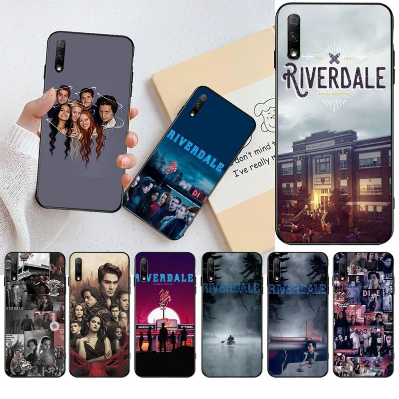 Funda HPCHCJHM Riverdale TV para teléfono móvil con foto personalizada para Huawei Nova 6se 7 7pro 7se honor 7A 8A 7C Prime2019