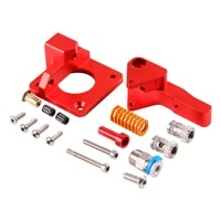 aluminum upgrade dual gear mk8 extruder for extruder cr10 cr 10s pro reprap 1 75mm 3d parts drive feed double pulley