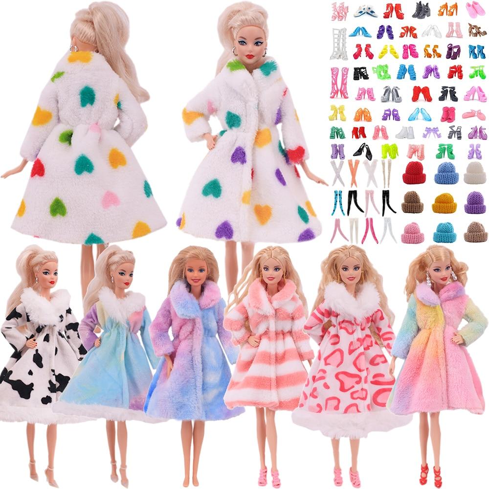 Vestido de muñeca de Barbies para niñas, ropa de Barbie de 11,8...