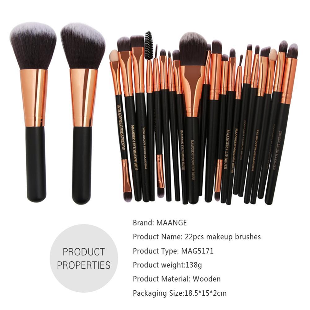HOT Makeup Brushes Set Professional Cosmetic Foundation Powder Blush Eye Shadow Blend Make Up Brushes Tool Beauty Kit