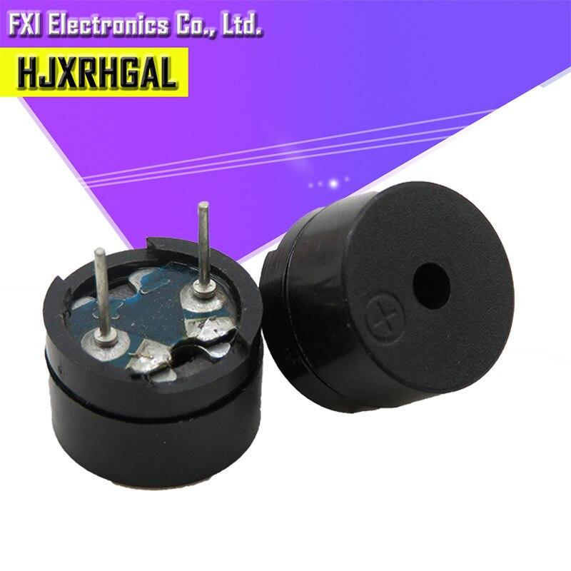 10 шт. Универсальный пассивный зуммер AC/2 кГц 3 в 5 в 12 В Универсальный электромагнитный импеданс 16 Ом