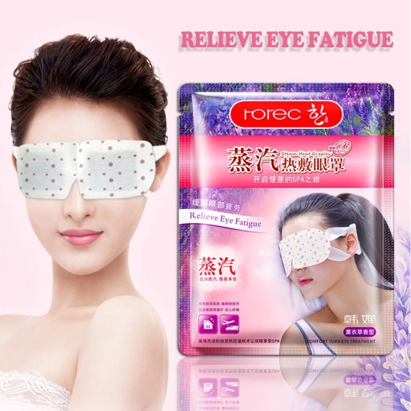 Steam Eye Mask Face Care Skin Dilute Dark Circles Eye Bags Eliminate Puffy Eyes Fine Line Wrinkles Anti Aging Masks Makeup