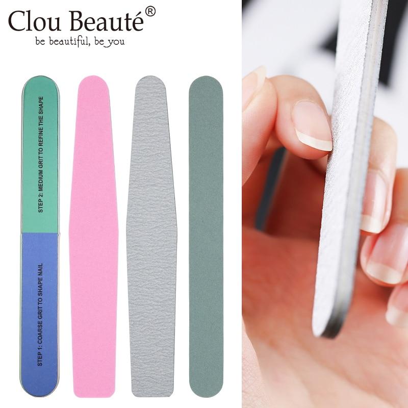 Clou Beaute profesional para limar uñas, tope de lijado y pedicura, esponjas...