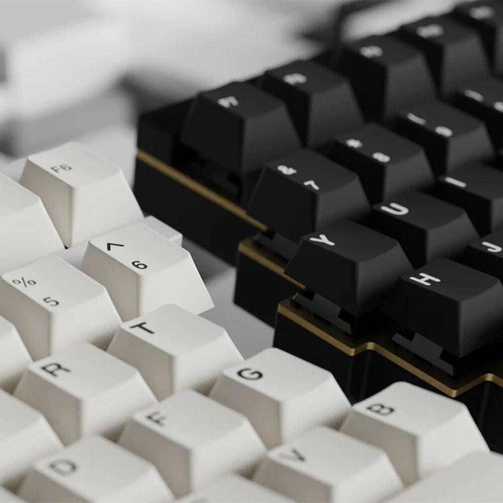 139 مفاتيح PBT Keycap الكرز الشخصي مزدوجة النار كاي كابس ل Filco الكرز البط iKBC لوحة المفاتيح الميكانيكية الألعاب