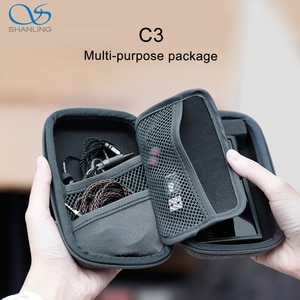 SHANLING C3 Storage Box for Portable Players M0 M1 M3S M5S FIIO M5 M6 M9 M7 M3K M11 Anti-pressure Multi-purpose Package
