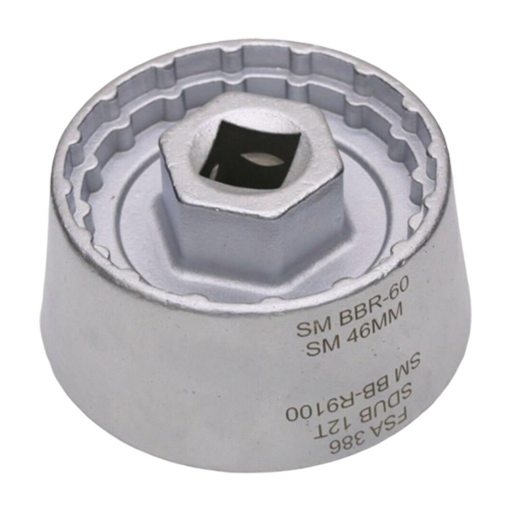 Herramienta de la taza del soporte inferior duradero 5 en 1 para BB9000 BBR60 DUB BSA30 FSA386