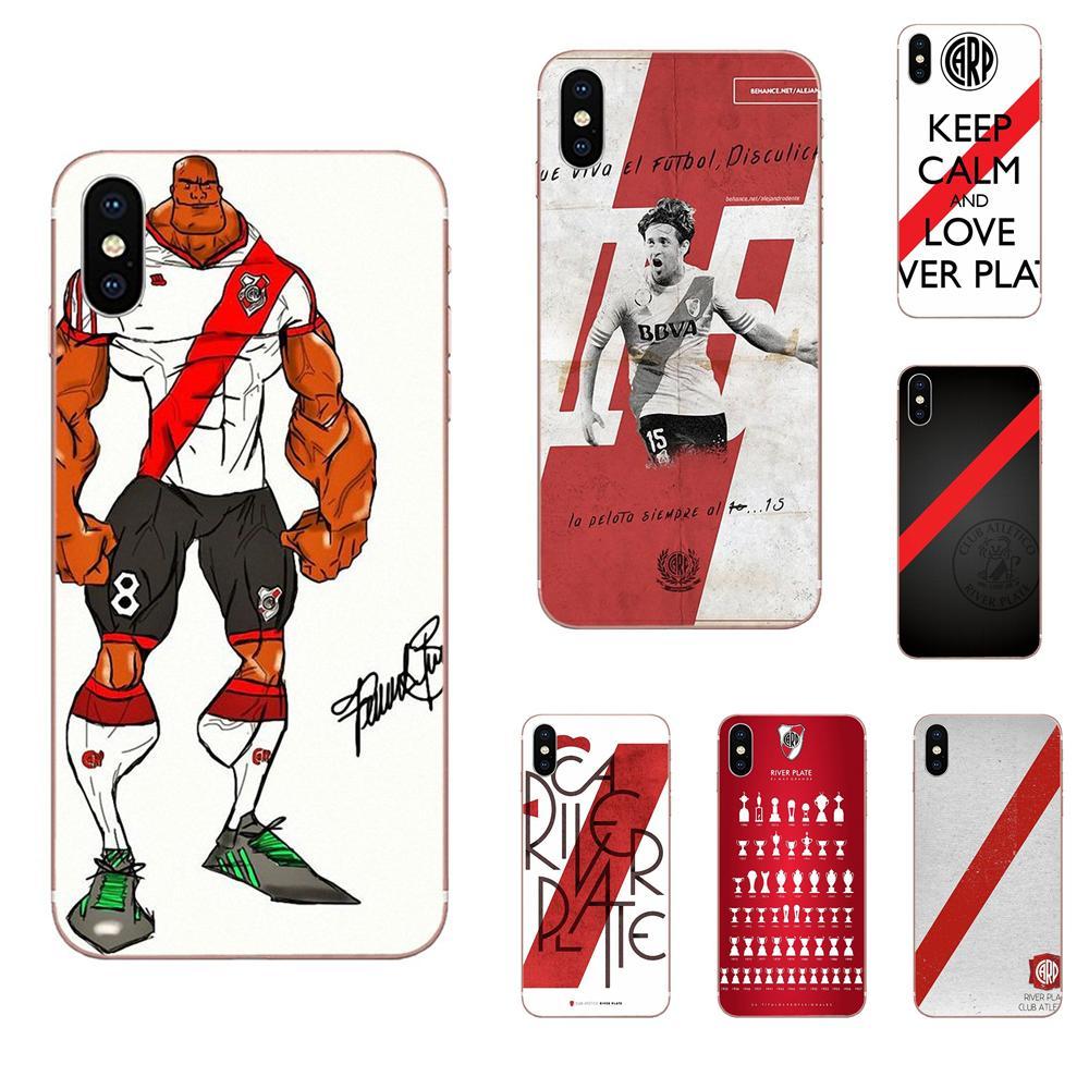 Delgada de TPU celular para Xiaomi Redmi Mi 4 7A 9T K20 CC9 CC9e Nota 7 8 9 Y3 SE Pro primer jugar River Plate