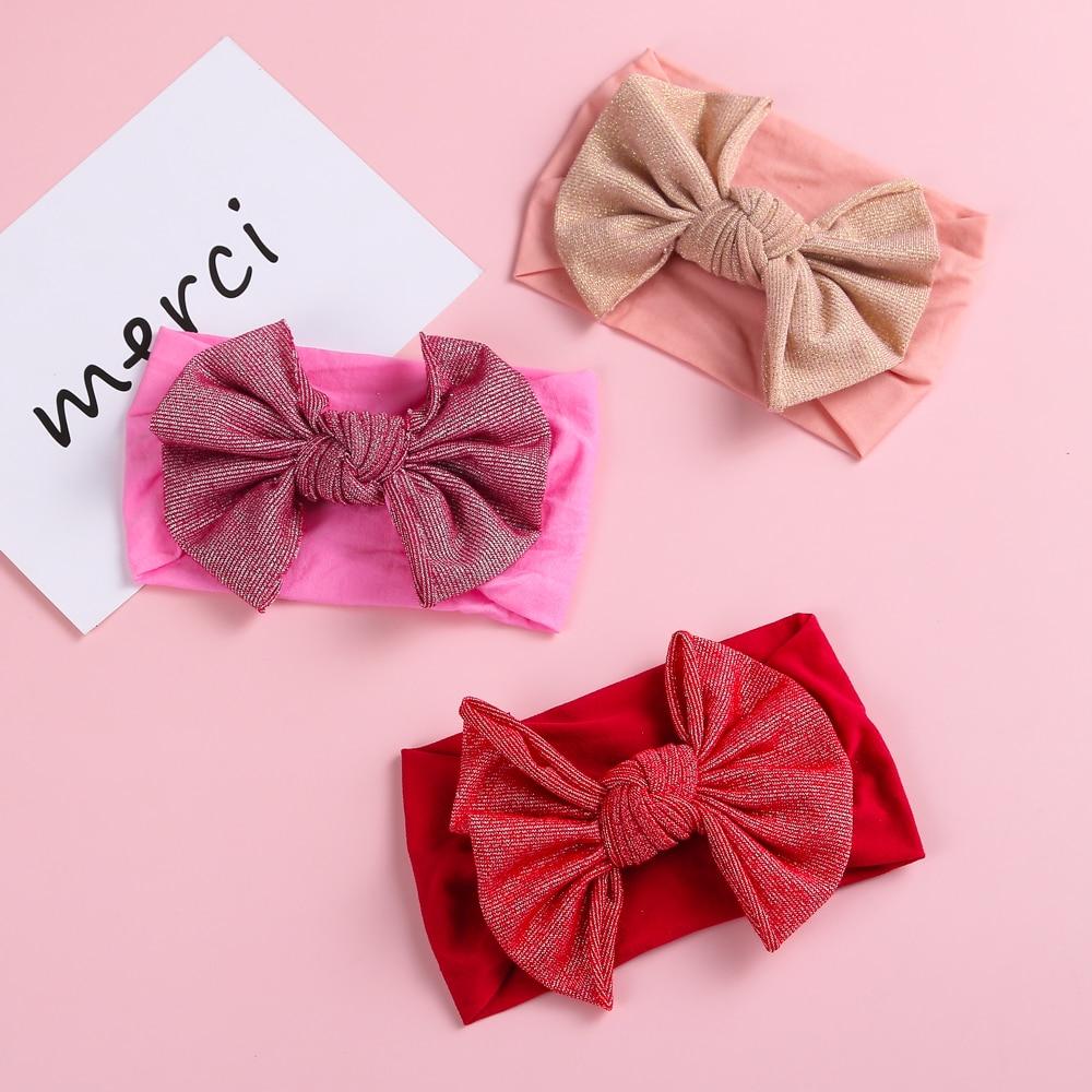 11pcs/Lot Babies Accessories Newborn Baby Headband Girls Twisted Knotted Soft Elastic Baby Girl Headbands Children Hair Bands