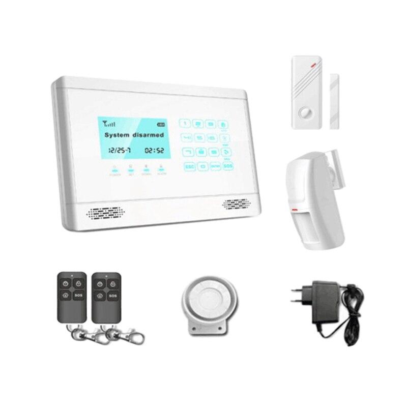 جهاز منزلي لاسلكي مضاد للسرقة ، GSM ، جهاز تحكم عن بعد ، للمدرسة ، قابس الاتحاد الأوروبي
