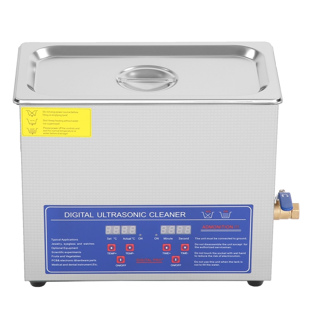 Hot Selling Customized 6L Jewelry Ultrasonic Cleaner 200W Cleaning Machine