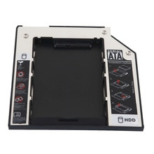 "Z panelem Bezel 2nd SATA 2.5 ""dysk twardy HDD SSD optyczny Caddy dla IBM Lenovo ThinkPad T410si T410i T420s T420si T430s T430si"