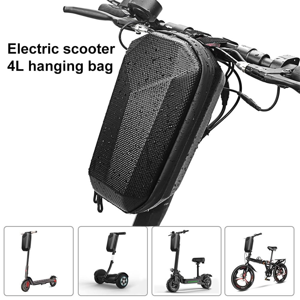 Bolsa de almacenamiento para patinete eléctrico, plegable y resistente al agua para monopatín frontal de Xiaomi, carcasa dura de EVA duradera