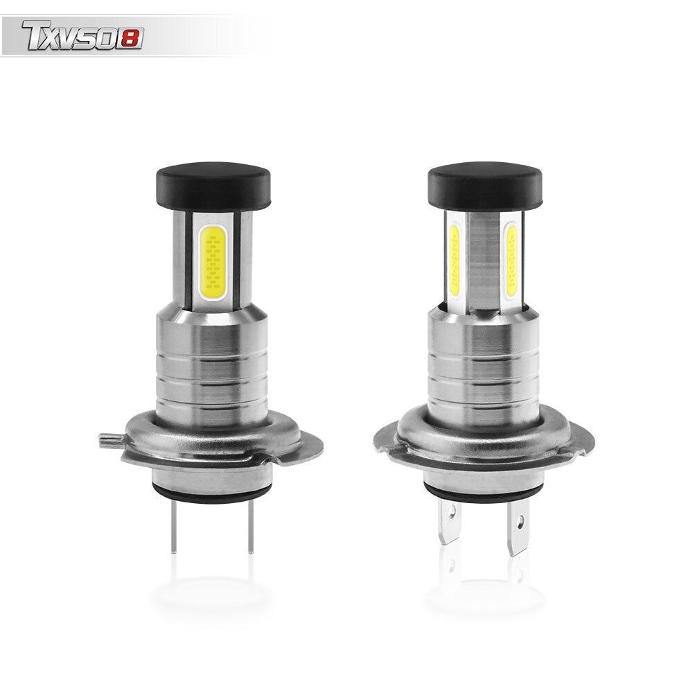 Светодиодный H7 головной светильник 6000K белый светильник АВ универсальные алюминиевый корпус мини автомобильные лампочки 110 Вт/заданная вел...