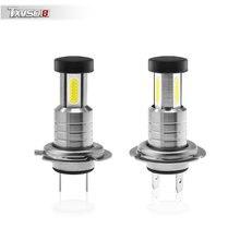 Car Lights H7 Led Headlight 6000K White 110W/Set Headlamp 12V Auto Fog Lamps 26000LM Bulbs Super Bri