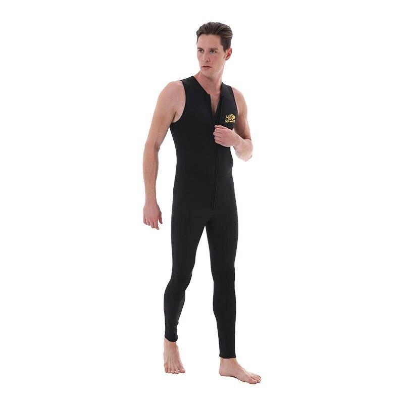 Wetsuit colete 3mm neoprene mergulho terno colete superior surf mergulho terno de pesca sem mangas colete