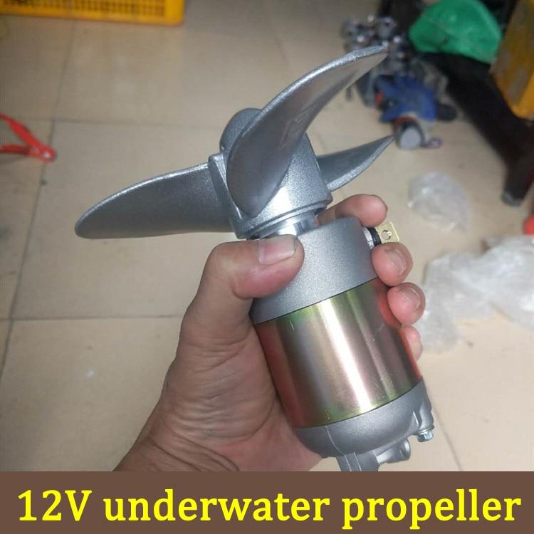 لتقوم بها بنفسك قارب كهربائي عش اللوح الخارجي موتور المروحة مجداف آلة مركب مطاطية 12 فولت تحت الماء موتور المروحة