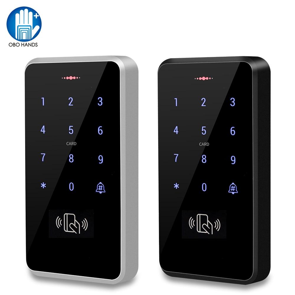 IP68 Waterproof Access Control Keypad Outdoor RFID Access Controller Touch Door Opener System Electr