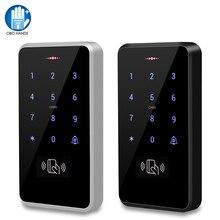 Teclado de Control de acceso a prueba de agua IP68, controlador de acceso RFID al aire libre, sistema de apertura de puerta táctil, tarjetas electrónicas EM4100 125KHz
