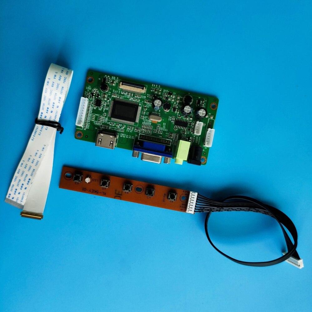 لوحة تحكم لـ B173RTN02.2/B173RTN02.1/B173RTN02.0, لوحة تحكم 30pin EDP LCD LED HDMI VGA شاشة 1600X900 ، للقيادة