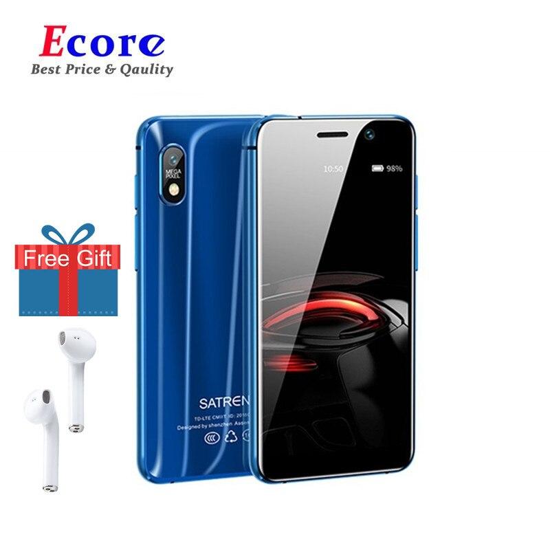 Mini Smartphone 4G LTE Dual de 3,22 pulgadas, MTK6739, Quad Core, 2GB + 16GB, teléfono móvil con GPS, teléfono móvil Ultra delgado, Android más pequeño, Satrend S11
