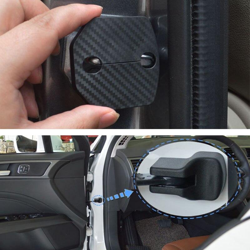 Protetor antiferrugem para fechadura, 8 peças, kit para ford focus mk3 mk4 st line 2012-2019