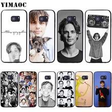 YIMAOC Matthew Gray Gubler Case for Samsung Galaxy A10s A20s A30s A40s A50s Note 10 Plus A2 J4 J6 J7 J8 Core Prime