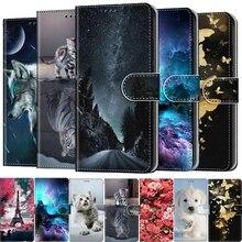 Funda de cuero para Xiaomi Redmi Note 3S, 4A, 4X, 5 Plus, 5A, 6, 7, 7A, 8, 8A, 8T, 9, 9S Pro, 9A, 9C, sFor